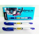 Ручка масл.Hiper Manner HО-209 0.7мм (10шт) синя