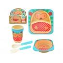 Посуда дет.бамбук MH-2770-21