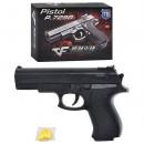 Пистолет ES 1003-729 B,А (192шт) на пульках, 17см, в кор-ке