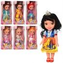 Кукла 9250-B (24шт) DPS, 34см, муз, свет, 7видов, на бат, в кор-ке