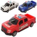 Машинка 585-2 (120шт) полиция  инер-я 22см 3 цвета  в кульке