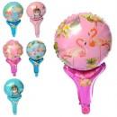 Кульки надувні фольговані MK 2573 (50шт) 10 дюймів, мікс, 43см