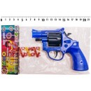 Пистолет A 4 (432шт) на пистонах, 3 цвета, в кульке
