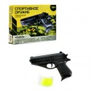 Пистолет ES301-236 (192шт) на пульках, 14-10см, в кор-ке, 16-12-3см