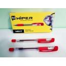 Ручка масл.HO-175 Hiper Next 4км 1мм червона (10шт)
