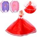 Кукла 529A1 (24шт) невеста, 28см, 3цвета, в кор-ке, 36-47-8см