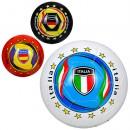 М'яч футбольний EV 3284 (30шт) розмір5, ПВХ, 300-320г