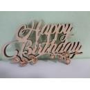 Топер Happy Birthday з гілочкою б/п (5шт)
