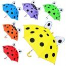 Зонтик детский MK 0211 (120шт) 6 цветов, 45см