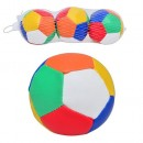 Мяч 7870-50 (288шт) 3 шт, кожзам, в сетке