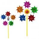 Ветрячок M 5743 (240шт) вертушка, диам7см,5цветк