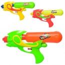Водяной пистолет  M 5910 (144шт) 25,5см, 3цвета, в кульке