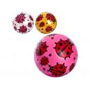 Мяч детский MS 0949-1 (120шт) 9дюймов, божья коровка, ПВХ, 60-65г, 4цвета