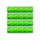 3-305 Цінник ЗЕЛЕНИЙ С-150 з рамкою 100шт (5шт/120/1200) 3,0см*2,0см