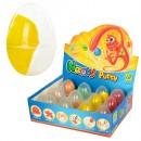 Жвачка для рук MK 0880 (192шт) ароматиз, в яйце, 12шт в дисплее