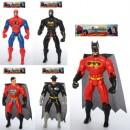 Супергерой 8886-1-2-3-4 (144шт) 28см,свет,подв.руки и ноги,4вид(BM,СП,СМ),в кул