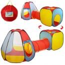Палатка MR 0021 (6шт) с тоннелем,пирамида,куб,110-275-95см,2входа