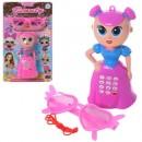 Телефон JS5619-40F (108шт) LOL, кукла, муз,звук