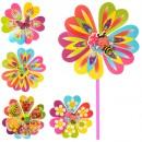 Ветрячок M 0804 (300шт) 2шт,размер сред,цветок,диаметр22см,палочка 28см,6 видов