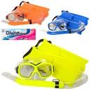 Н-р для плавания 65163 (36шт) маска15,5см, трубка40см, ласты29см