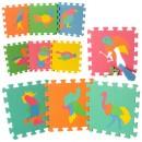 Коврик Мозаика M 0387 (12шт) EVA,птицы,10дет 29-29-8см