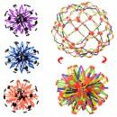 Мяч YZ1367 (120шт) трансформер, 4 цвета, в кульке, 13-13-13см