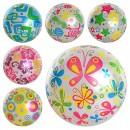 Мяч детский MS 0246 (120шт) 6 видов, 9 дюймов, 85гр, ПВХ