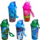 Пляшка для води з трубочкою дитяча