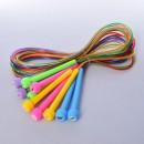 Скакалка MS 0687  ручка пластик 240см мотузка гума (10шт/300шт)