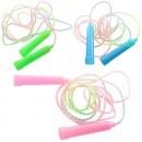 Скакалка MS 0827 195см мотузка гума пластик ручки (10шт/600шт)