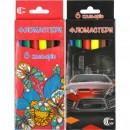 Фломайстри 6 кольорів  картон С-128-6/950-6 (24/480шт)