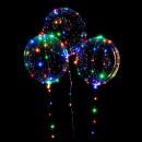 Шарики надувные MK 1734 (50шт) светодиод.лента, свет, на бат-ке