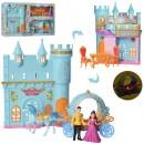 Замок SS049C (12шт) принцессы,карета с лошадью,зв,св,бат,кор, 57,5-32-8,5см