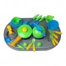 04-411 Плита с мойкой и посудой, в кор (4шт)