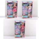 Кукла 146-4-5-6 (45шт) шарнирная,аксессуары,в кор-ке,19,5-33,5-5,5см