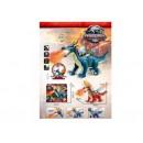 Динозавр-дракон NY 020 B світиться,звук,ходить, дихає паром