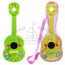 Гитара 23123 CD (144шт) 2 цвета, в кульке, 36см