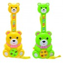 Игра 8088 (216шт) гитара-медведь, 2 цвета, звук, на бат-ке, в кульке, 30-12,5-4см