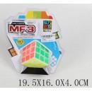 Кубик Рубик MF8903  (120шт/4) 3*3, на планшетке 19,5*16 см