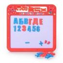 JT Досточка 0185 UK (108шт) магнит.азбука