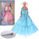 Кукла DEFA 8003 (24шт) 29см, волш.палочка-свет, на бат-ке(табл), в кор-ке, 21,5-34-8см
