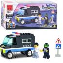 Конструктор BRICK 457799/126 (80шт) Полицейская серия, машинка, 87дет, в кор-ке
