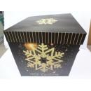 Коробка подар.бум.новогод. 25см 9832-L (192шт)