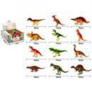 Динозавр 929-69 (288шт) от 15см,24шт(12видов) в дисплее,24,5-23,5-11,5см