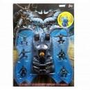 Машинка H 7335 (48шт) BM, фигурки супергероя 6 шт, транспорт, на листе