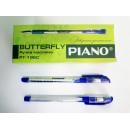 Ручка кульк. Piano PТ-195-C синя (12/144шт)