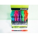 Ручка кульк. Piano PТ-256-А синя.(12/50шт)