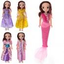 Кукла 304 (96шт) DPS, 23см, 5 видов, в кульке, 12,5-29-3см