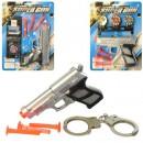 Набор с оружием 168N-K-28 (150шт) пистолет15см, пули-присос,на листе, 19-25-3см