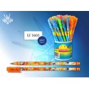 Ручка TZ-3602/3603 син. (60шт)